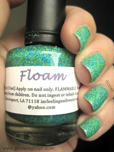 Nailventurous - Floam, Pinkerbell, Orange You Unique, and Humble Bee: Swatches and Review