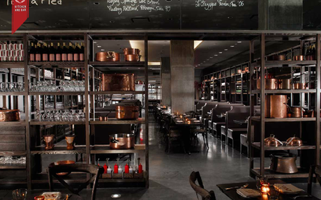 Award Winning DBGB Kitchen And Bar In New York | Restaurant Design