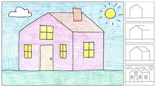 How to Draw a House - Paperblog