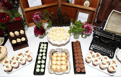 The opening of the Wilde Bar: An Oscar Wilde Themed Dessert Station