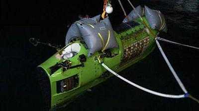 James Cameron Reaches Ocean's Deepest Point