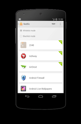 Notific - screenshot