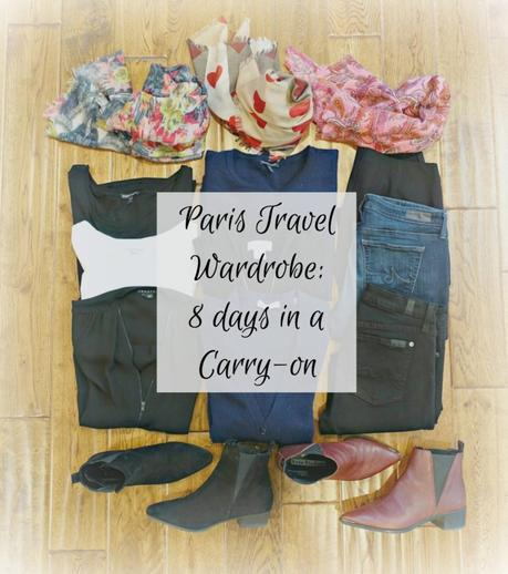 cool weather travel wardrobe for Paris