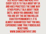 Ridiculous Responses Quitting Dieting