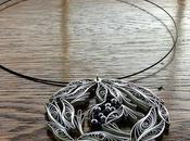 Custom Quilled Necklace Pendant