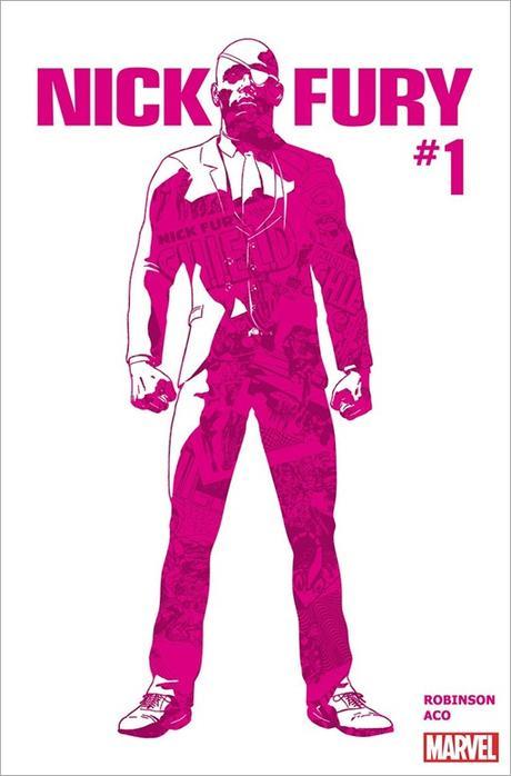 Nick Fury #1 Cover