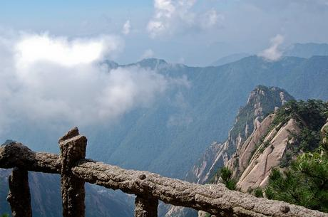 Huangshan - floating clouds below your feet.