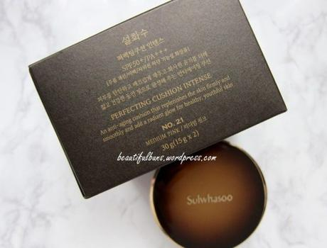 Review: Sulwhasoo Perfecting Cushion Intense - Paperblog