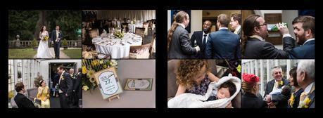 wedding guests at hogarths hotel