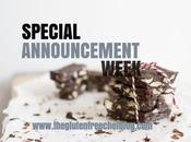 Special Announcement Week!