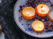 Mandarine Cinnamon Scented Swim Candle DIY/ Mandarinen Zimt Schwimm- Kerzen