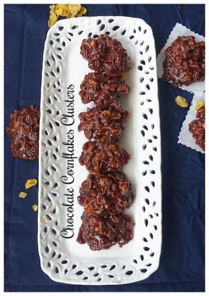 Nutty Chocolate Cornflakes cluster Recipe