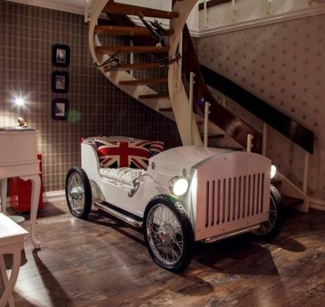 Repurposed Vintage Car Made into a Bed