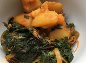 Instant Pressure Cooker Paprika Chard Potatoes