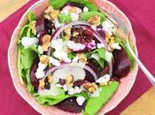 Spinach Roasted Beet Salad