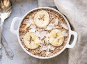 Banana Coconut Baked Oatmeal (Gluten Free, Refined Sugar Free Vegan)