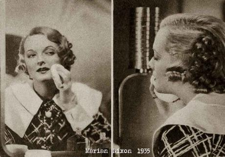 Max-Factor-School-of-Makeup-1935- Marian Nixon