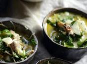 Coconut Curry Orange Blossom Chicken Soup