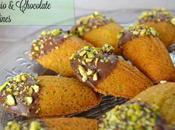 Pistachio Chocolate Madeleines