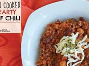 Slow Cooker Hearty Beef Chili (gluten Free)
