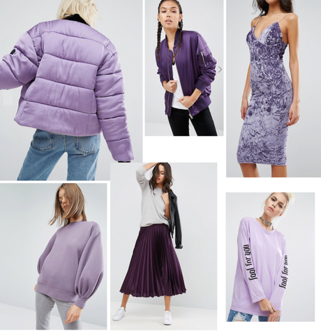 purple spring 2017 trend shop lilac jumper bomber