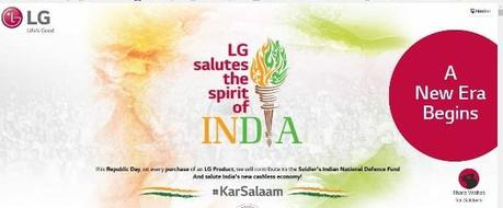 #KarSalaam : An LG Initiative Saluting Indian Armed Forces