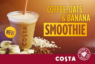 Review: New Costa Coffee, Oats & Banana Smoothie