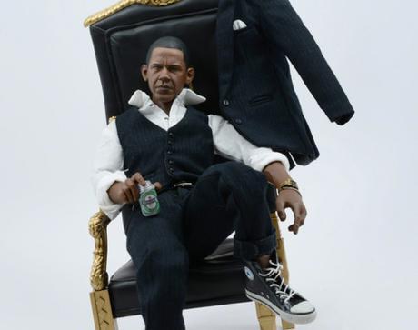 Santlov Depiction Of Barack Obama As A Rapper