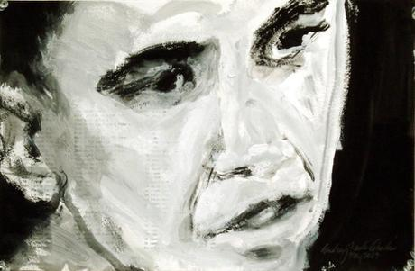 Drawing of President Barack Obama