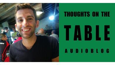 [Thoughts on the Table – 52] Italian and American Culture with Nick Zingale