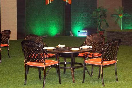 Bar-be-cue Kitchen at Indirapuram Habitat Center - Terrace seatings