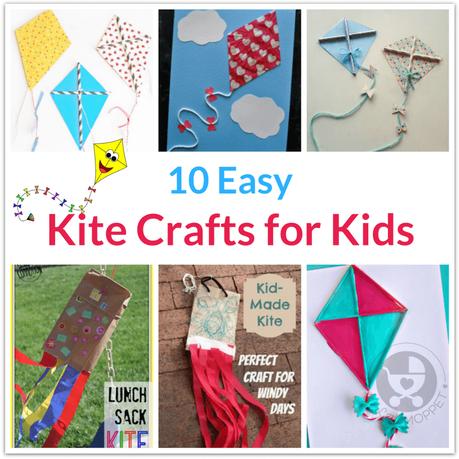 kite crafts for kids