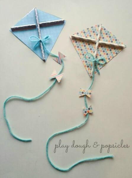 10 Easy Kite Crafts For Kids Paperblog