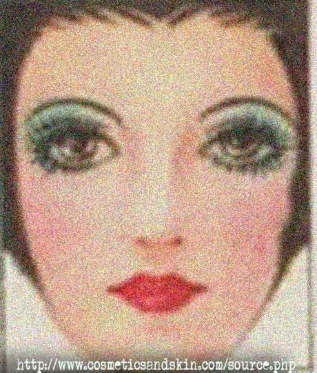 1930s Beauty Booklet - Makeup for Siren Eyes