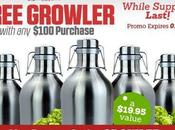 Free Growler with $100 Purchase Home Brew Supply