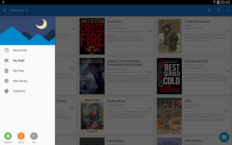 Moon+ Reader Pro (50% OFF) - screenshot