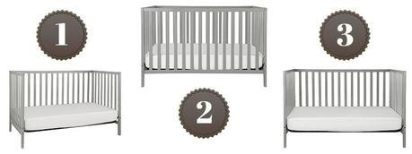Espresso Finish Union Toddler Bed Conversion Kit