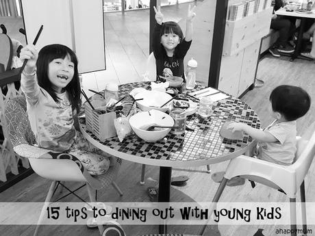 15 tips to dining out with young kids