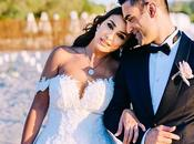 Elegant Beach Wedding Greece Dana Shadi