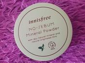 More Oily Face: Innisfree Sebum Mineral Powder Review