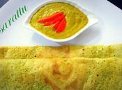 Andhra Pesarattu Recipe, Prepare (green Gram Dosa)