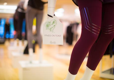 Faya Fitness On Toast Faya Harrods Its All Good January Campaign Fit In 3 Book Luxury Athleisure Activewear 5th Floor Sports Clothes_-11