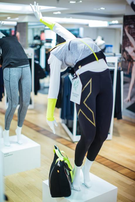Faya Fitness On Toast Faya Harrods Its All Good January Campaign Fit In 3 Book Luxury Athleisure Activewear 5th Floor Sports Clothes_-12