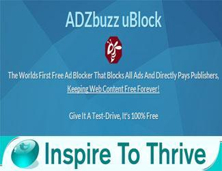 See How ADZbuzz Ublock Will Be Valuable To Bloggers Today
