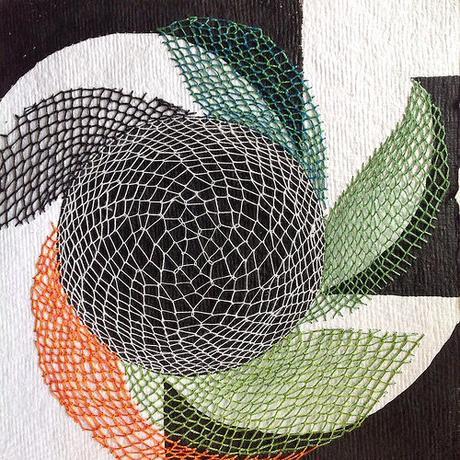 Stitching on Paper by Karin Lundström
