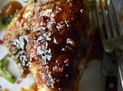 Orange Sriracha Glazed Chicken with Peppercorns