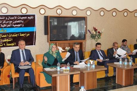 Iraq's Political Wrestling Arena