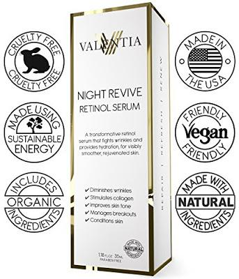 Wake Up to a New Skin with Valentia Night Revive Retinol Serum