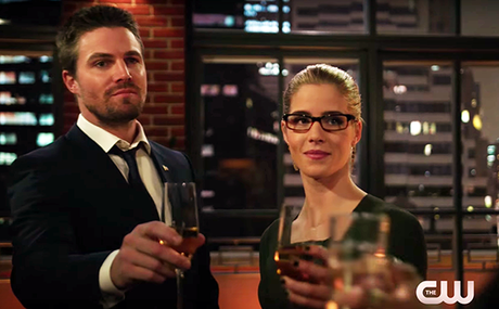 "The Arrow Mid-Season Premiere: They Sure Didn't Wait Long to Answer ""Who Are You?"""