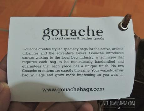 Gouache Harvey Bag for Travel